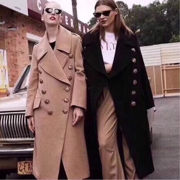 Burberry wool&cashmere coat